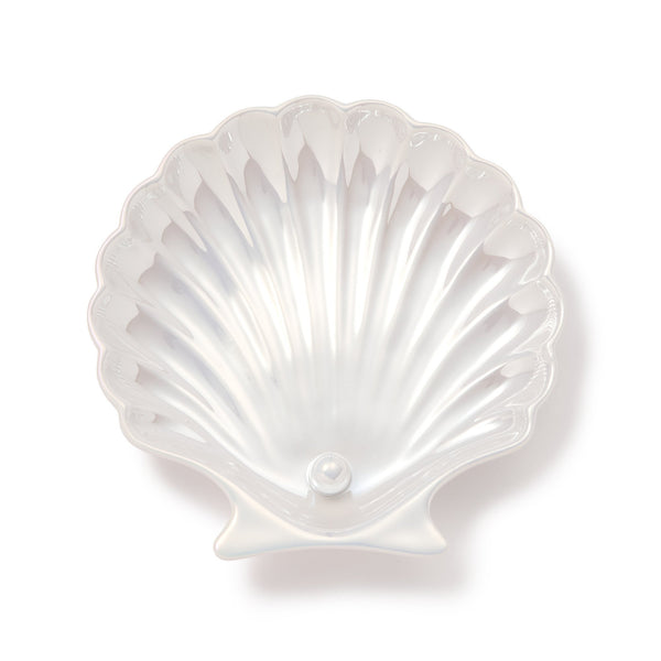 OPAL SHELL PLATE SMALL WHITE