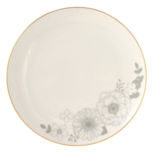 ANEMONE PLATE S WH