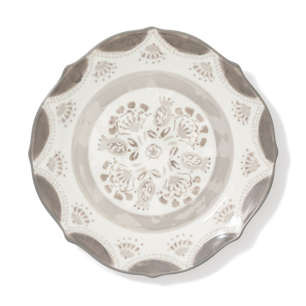 CARINA PLATE Medium Gray