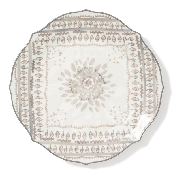 CARINA PLATE Large Gray