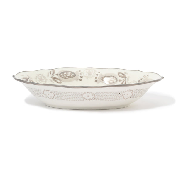 CARINA OVAL BOWL Gray