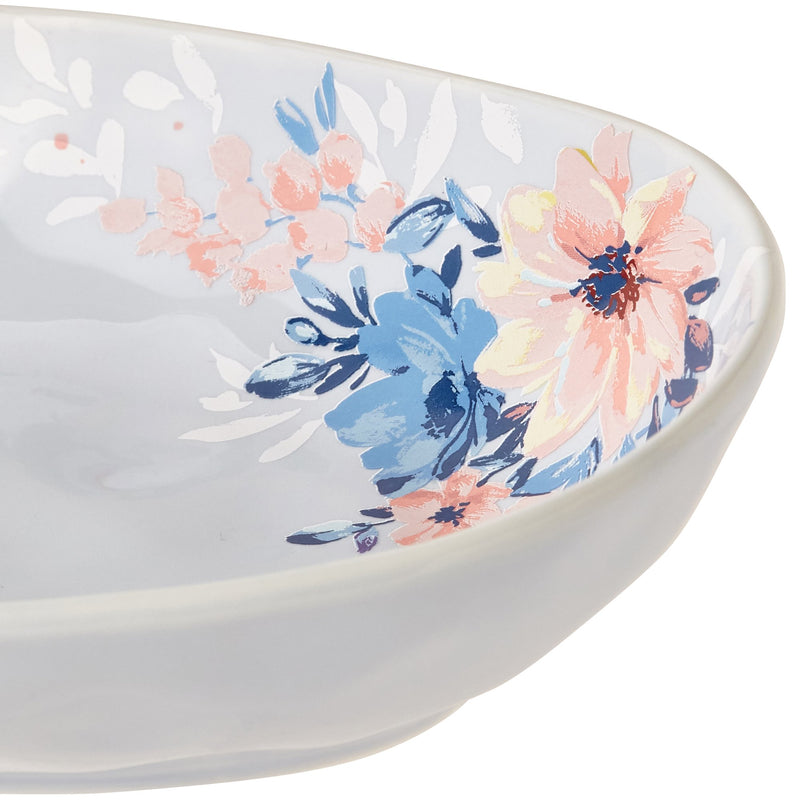 PRIMARLE Oval Bowl Light Blue
