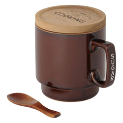 MUG Canister Sugar Brown