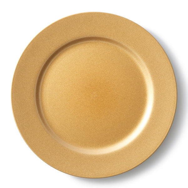 CHARGER Tray Round Gold