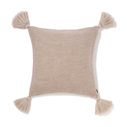 KNIT SOLID D CUSHION COVER 45 BE