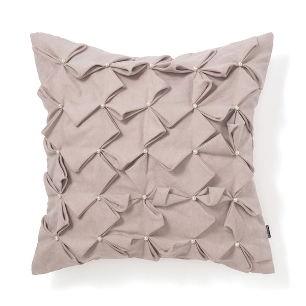 SUEDE PEARL CUSHION COVER  45 LPU