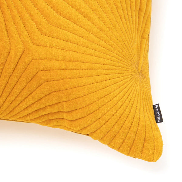 VELVET LINE CUSHION COVER 45 YE