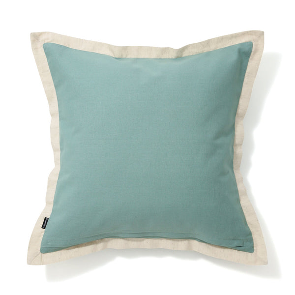 SOLID FLANGE CUSHION COVER 45 Light Green