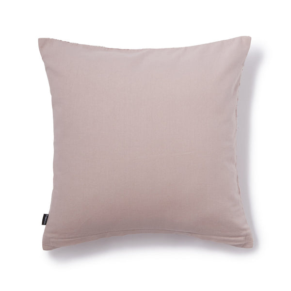 CHARLESEN CUSHION COVER Light Pink x Sliver