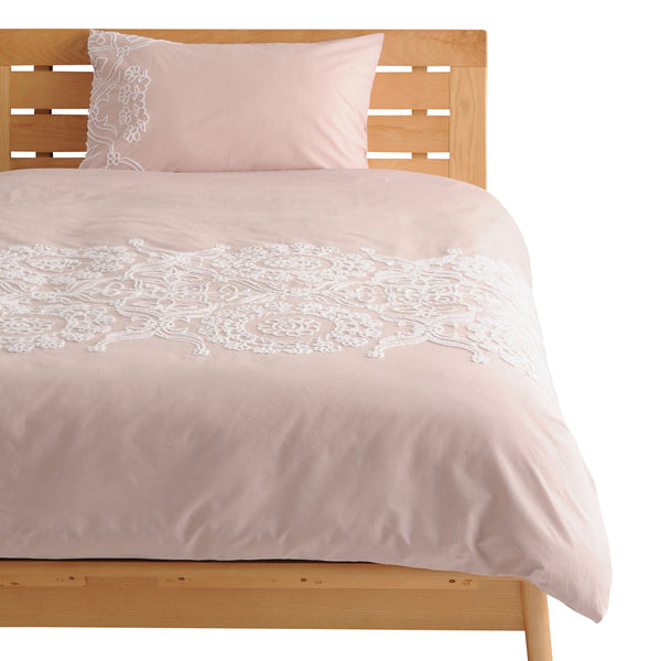 TERRY Comforter Case Single Pink