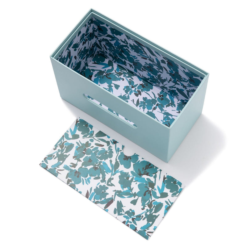 FLORESIA TISSUE BOX BL