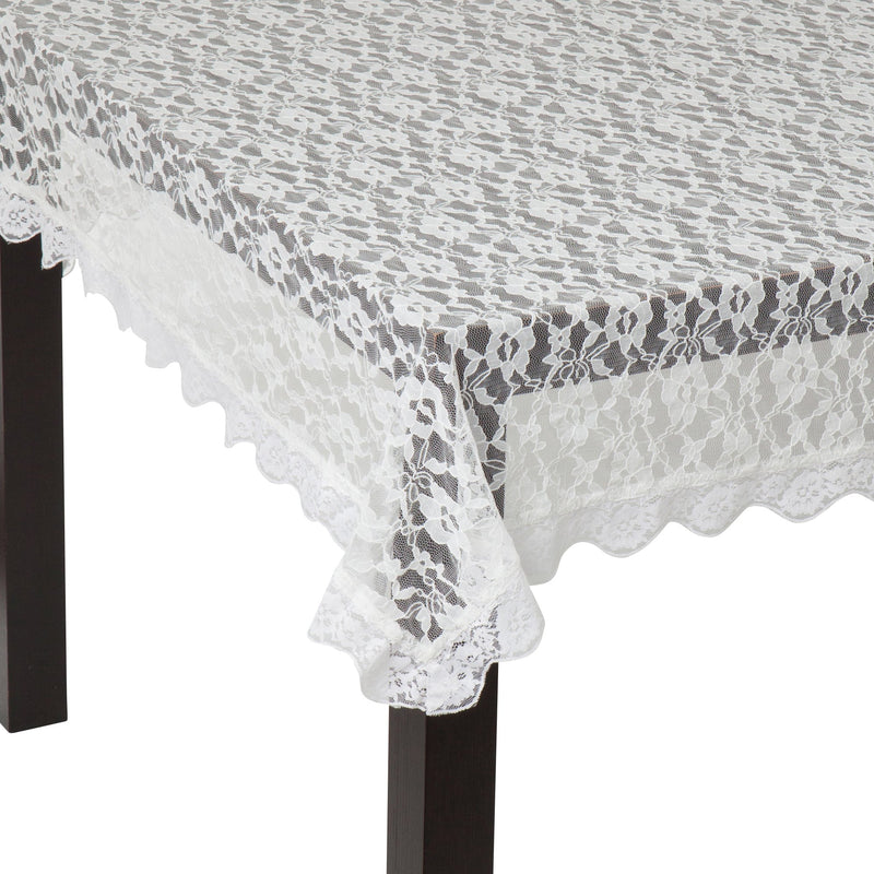 TABLE Cloth Merletto White