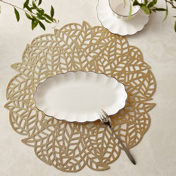 LEAFY Place Mat Gold
