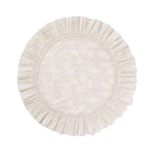 HEARTINA LUNCH MAT White