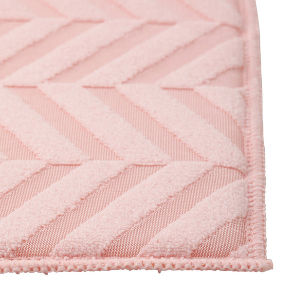 OBLIQUE Drying Mat 230x460 Pink