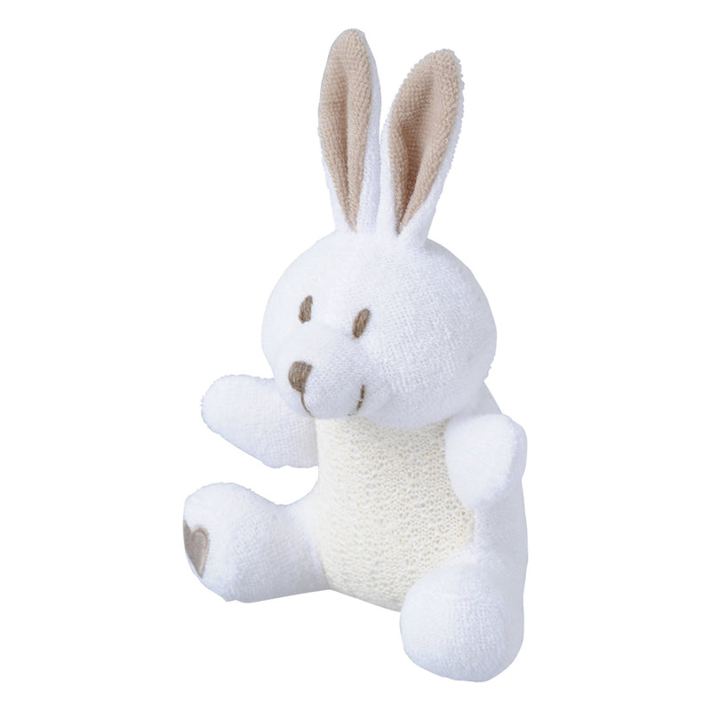 KALA Bath Scrubber Rabbit White