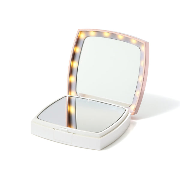 BLANCHE LED COMPACT MIRROR White