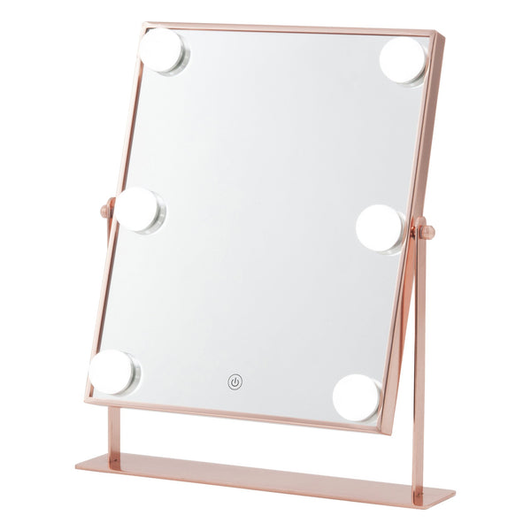 PFUTZE Hollywood Mirror Square Pink Gold