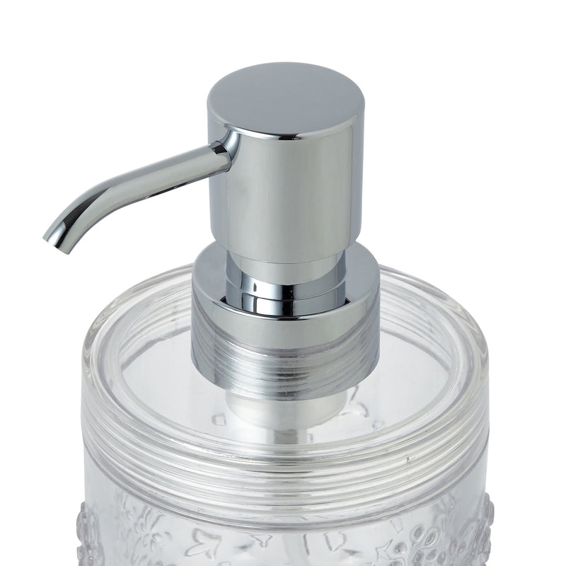 CROCHET Foam Dispenser Clear