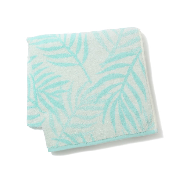 20SUMMER VALE BATH TOWEL Palm Tree Green