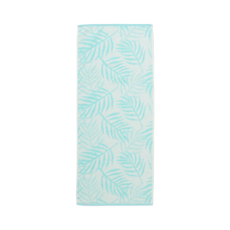 SUMMER VALE FACE TOWEL Palm Tree Green