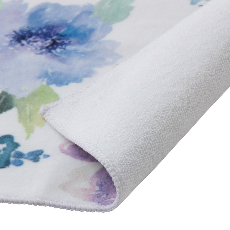 BALLOT Hand Towel Water Color Floral Blue