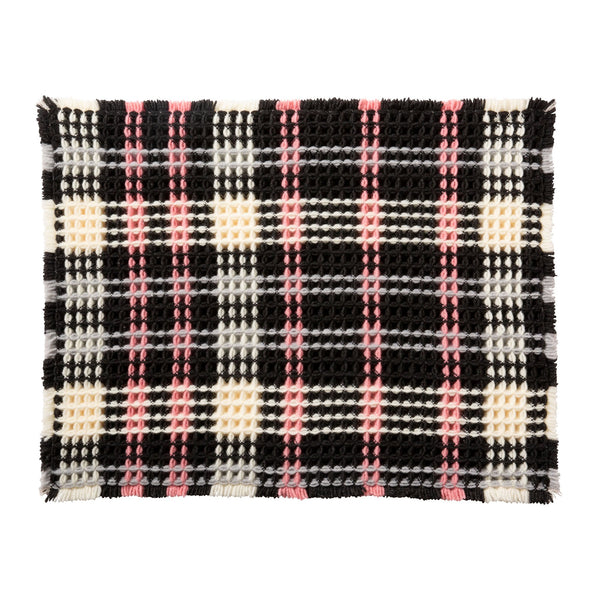 ZIPPY MULTI MAT PLAID Black