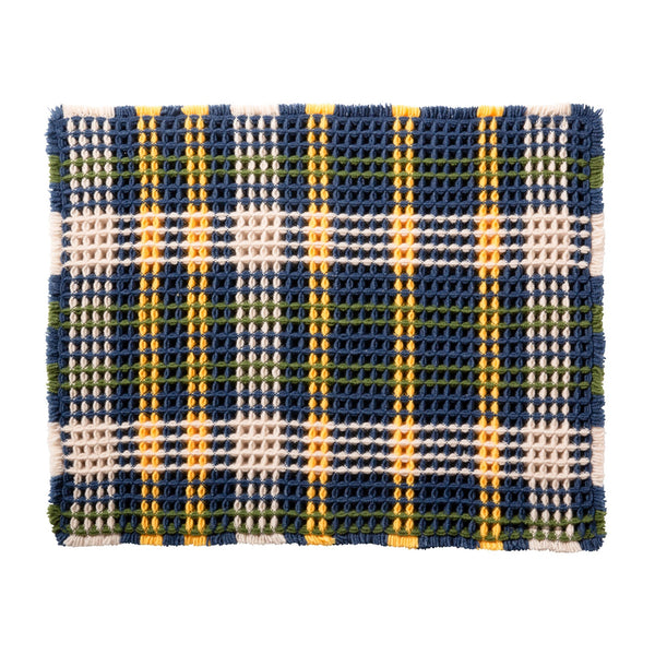 ZIPPY MULTI MAT PLAID Blue