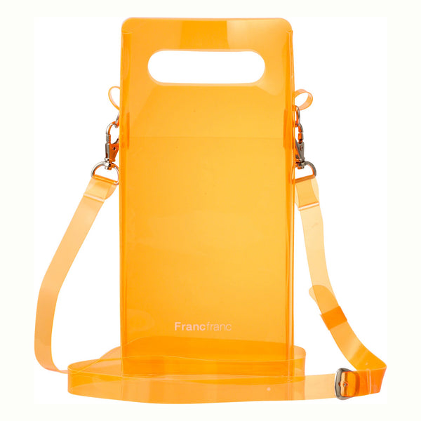 CLEAR SHOULDER BAG OR