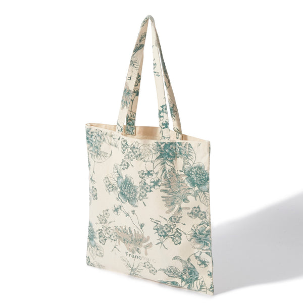 LOGOTOTE FLOWER Small Green