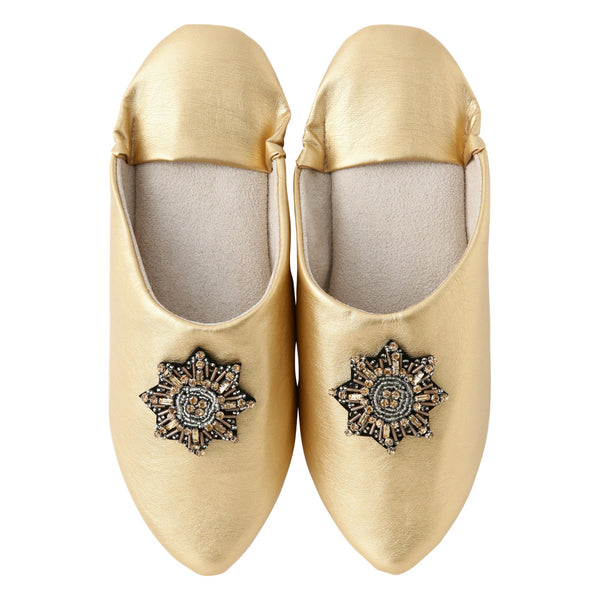BIJOUX ROOM SHOES Gold