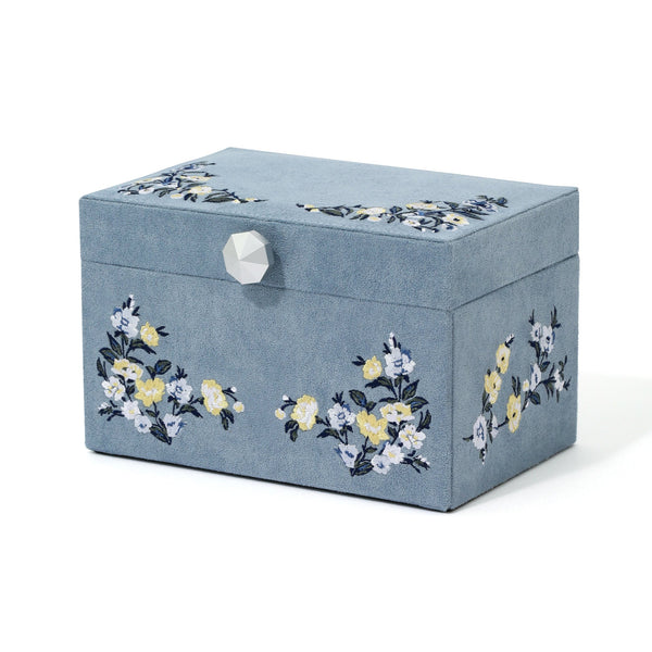 EMBROIDERY JEWELRY BOX S BL