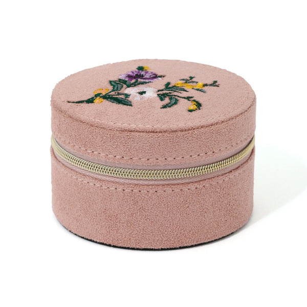 EMBROIDERY TRAVEL JEWELRY BOX S PK