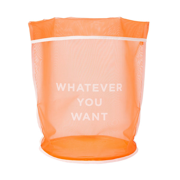 CLARTE MESH BASKET LARGE ORANGE