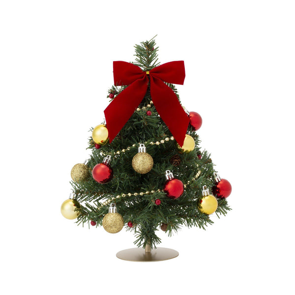 20XMAS DESKTOP SET TREE S GREEN