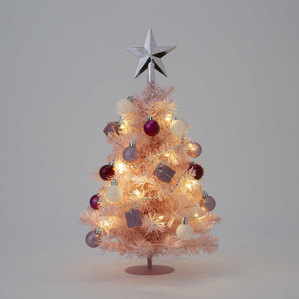 20XMAS DESKTOP SET TREE M PINK
