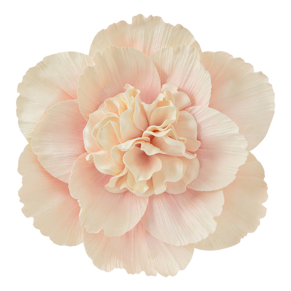 WALL FLOWER Peony Large Pink