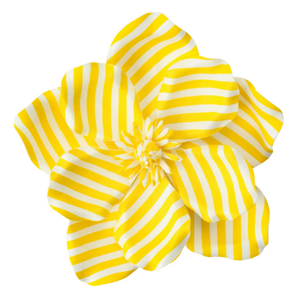 WALL FLOWER Magnolia Stripe Medium Yellow