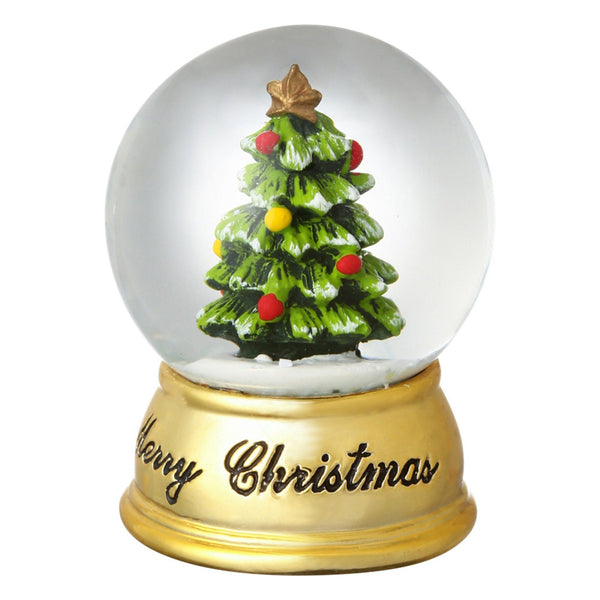 XMAS SNOW GLOBE TREE Extra small