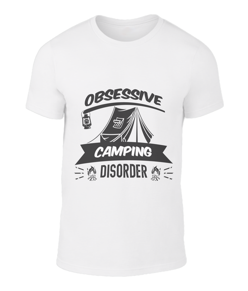 Obsessive Camping T-Shirt