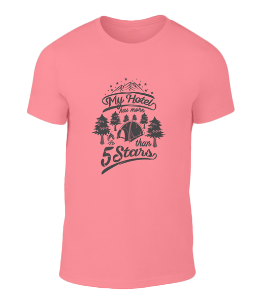 Cool 5 Star Camping Tee
