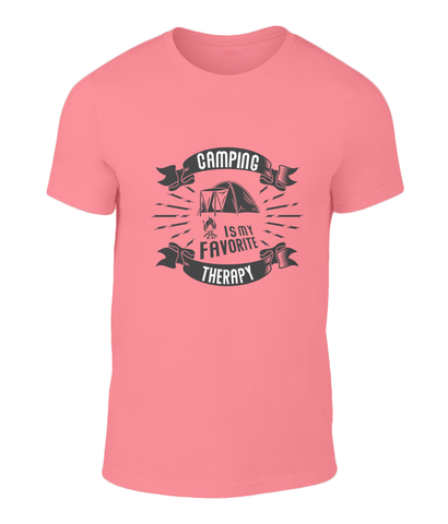 Camping Therapy T Shirt
