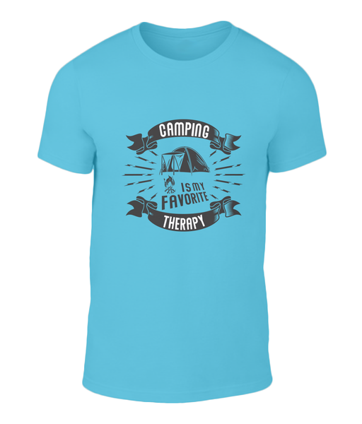 Camping Therapy Shirt