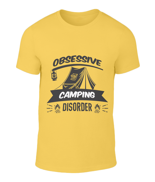 Obsessive Camping Tee