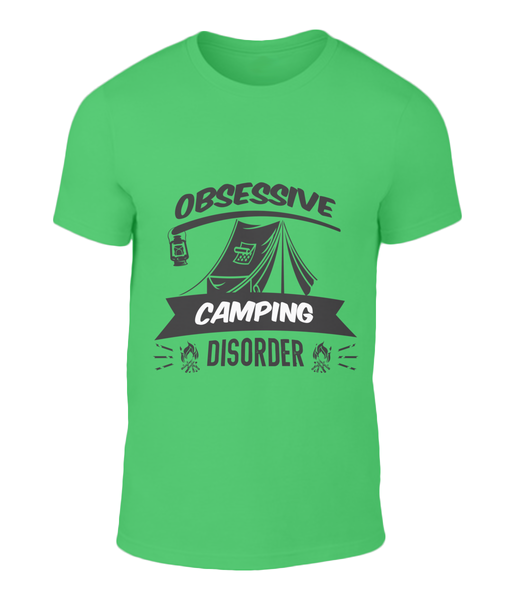 Obsessive Camping Tee Shirt