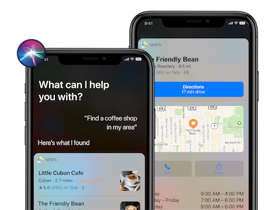 Siri for business