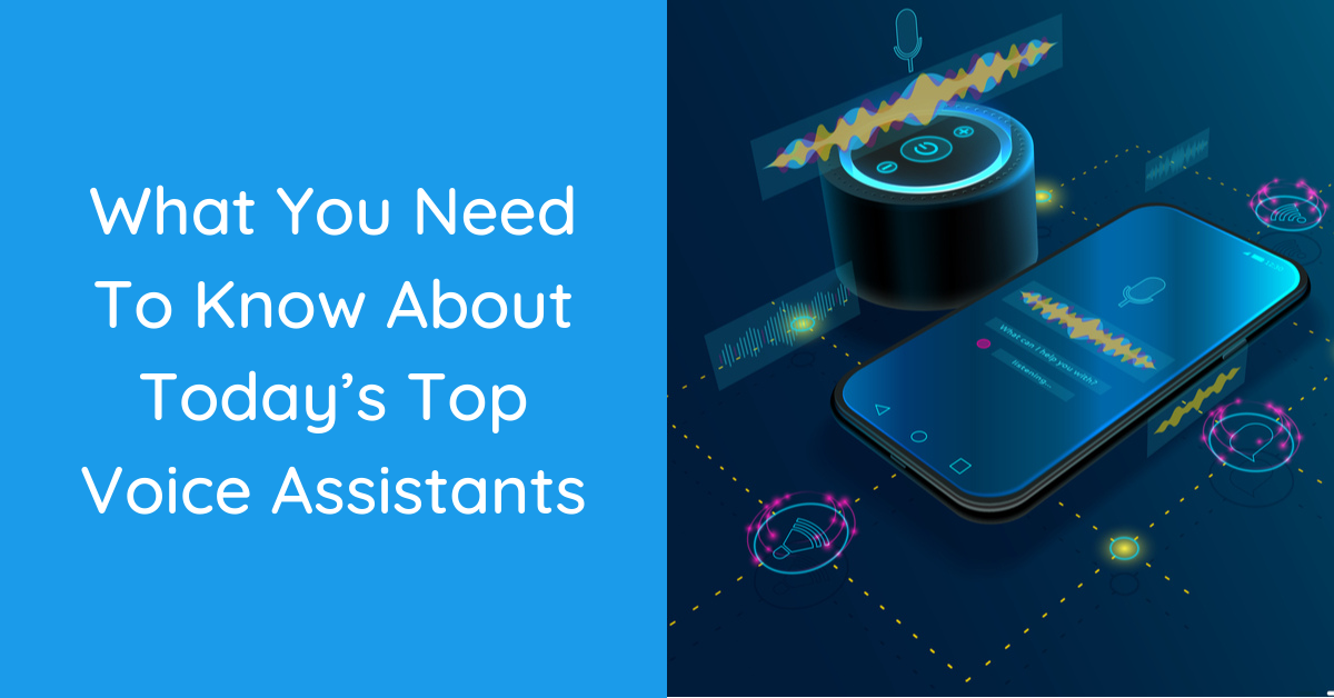 top voice assistants