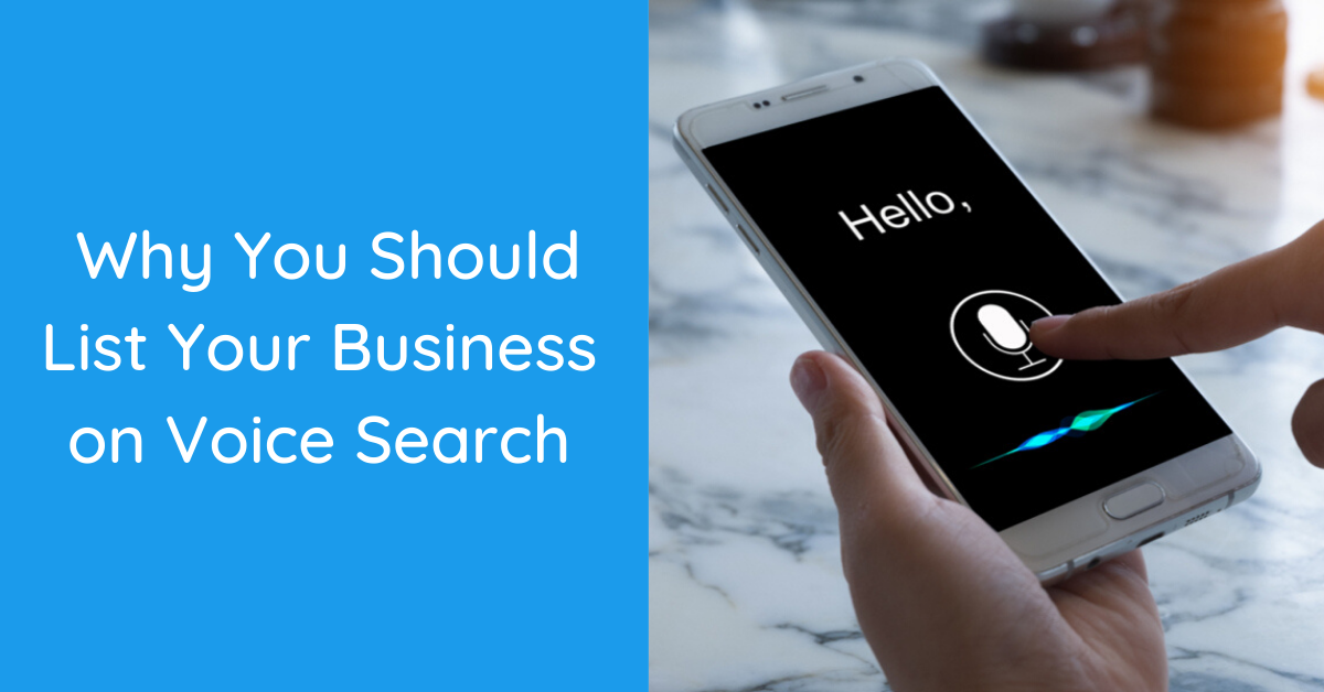 how to list business on voice search