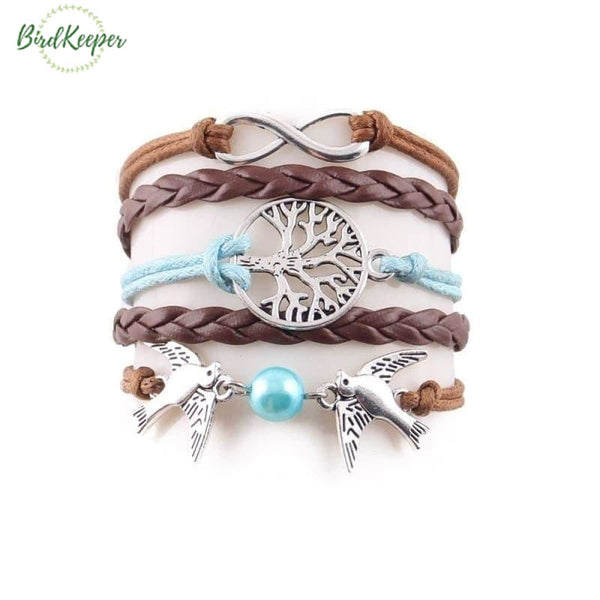 BRACELET OISEAUX - ENSEMBLE FASHION