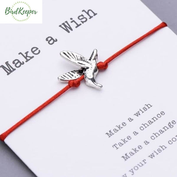BRACELET OISEAUX - MAKE A WISH